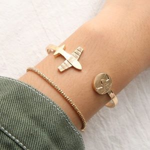 Boho Free Spirit 2pc Bracelet Set